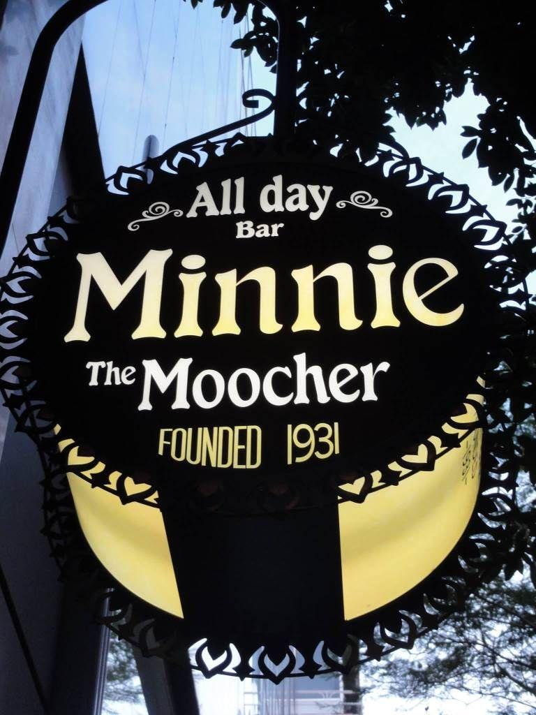 bars MINNIE THE MOOCHER  KOLONAKI