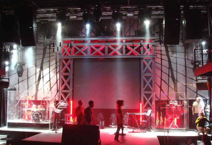 scenography STARZ - PSIRRI, ATHENS